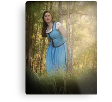 Belle from Once Upon a Time Metal Print