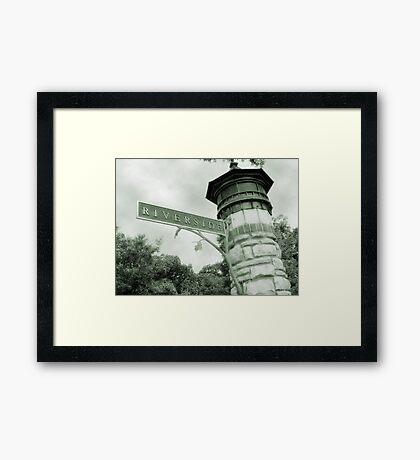 Riverside IL Framed Print