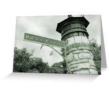 Riverside IL Greeting Card