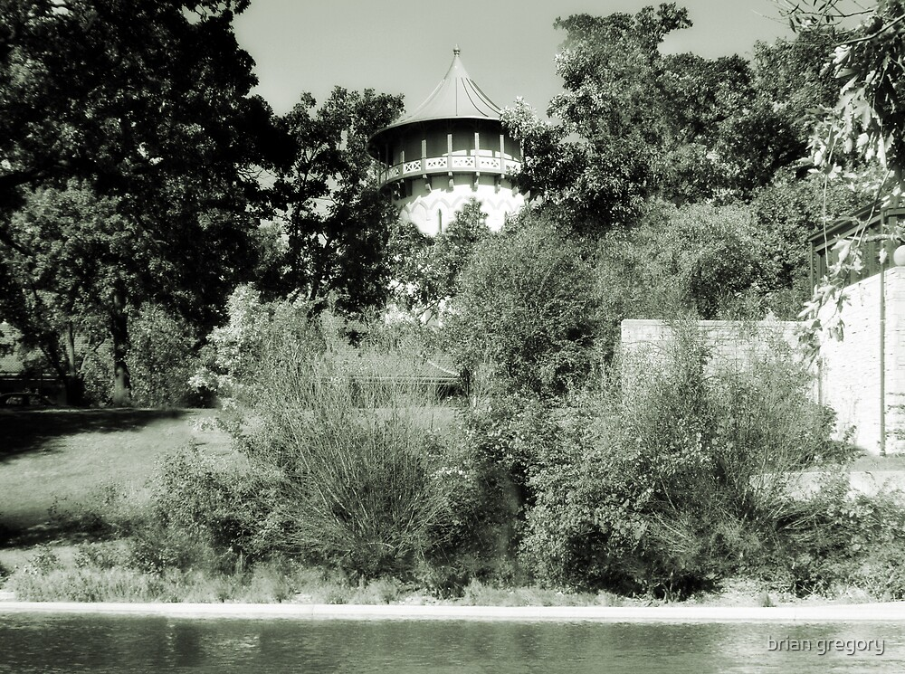 Water Tower in Riverside IL by brian gregory