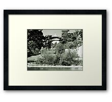 Water Tower in Riverside IL Framed Print