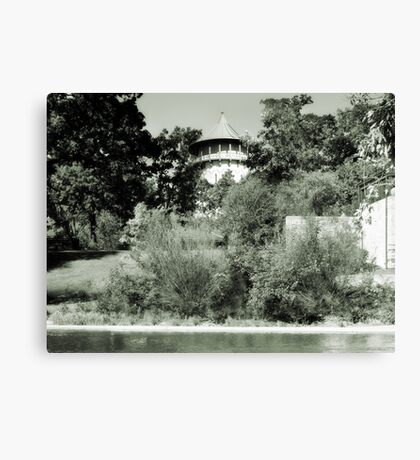 Water Tower in Riverside IL Canvas Print
