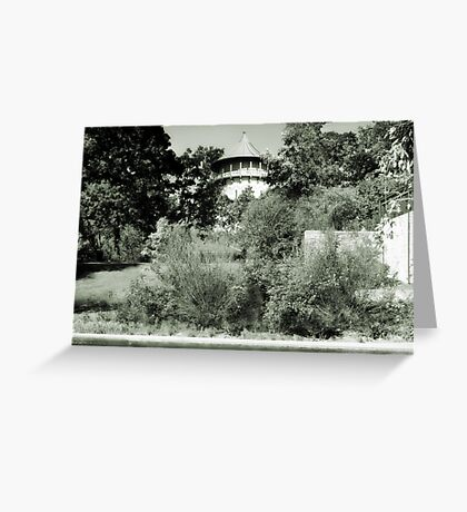 Water Tower in Riverside IL Greeting Card