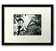 Library in Riverside IL Framed Print
