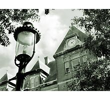 Library in Riverside IL Photographic Print