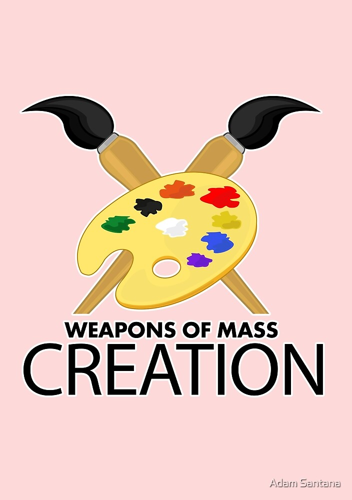 Weapons of mass creation - Pink by Adamzworld