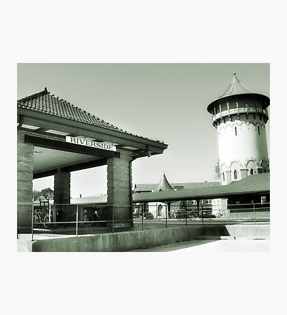 Riverside IL Train Station Photographic Print