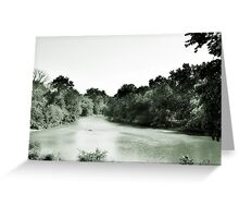 Des Plaines River, Riverside, IL Greeting Card