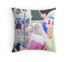 Parade Princesses Throw Pillow