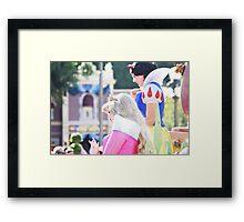 Parade Princesses Framed Print