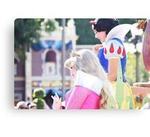 Parade Princesses Canvas Print