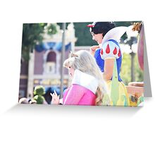 Parade Princesses Greeting Card