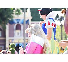 Parade Princesses Photographic Print