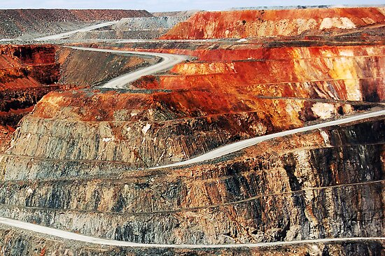 Super Pit Kalgoorlie by Eve Parry