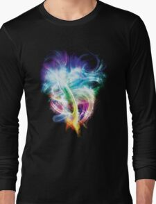 Colourful fire Long Sleeve T-Shirt