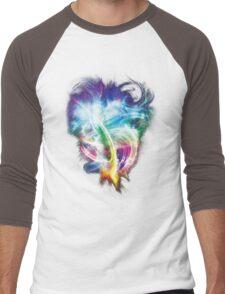 Colourful fire Men's Baseball ¾ T-Shirt