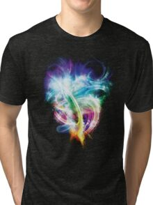 Colourful fire Tri-blend T-Shirt
