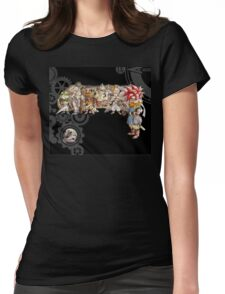 Chrono Trigger Womens Fitted T-Shirt