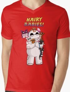 The Hairiest of Babies Mens V-Neck T-Shirt