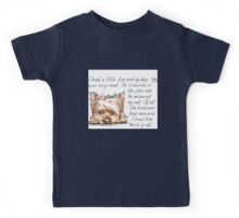 I had a little...Yorkshire Terrier Kids Tee