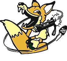 foxhound by PoeMansDream