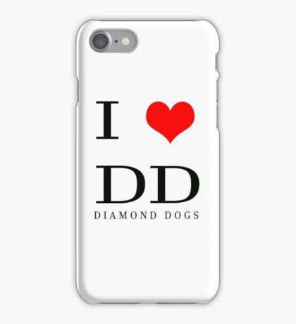 I Love DD iPhone Case/Skin