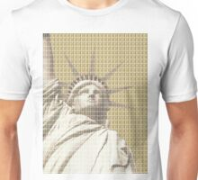 Liberty on Gold Unisex T-Shirt