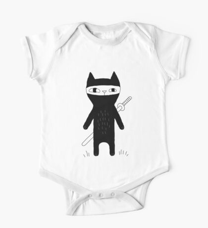 Ninja Cat One Piece - Short Sleeve