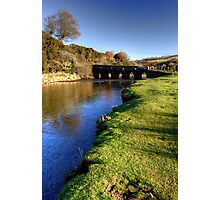 Exmoor at Landacre bridge Photographic Print
