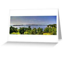 Lake of the Woods (Panorama) Greeting Card
