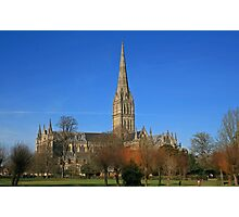 Down in the City of Salisbury Photographic Print