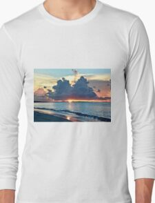 Caribbean Turks and Caicos Grace Bay Sunset T-Shirt