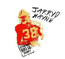 Jarryd Hayne wh by trevorhelt