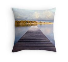 Back to Scapes Throw Pillow