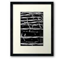 Sharp Sounding Metal Framed Print