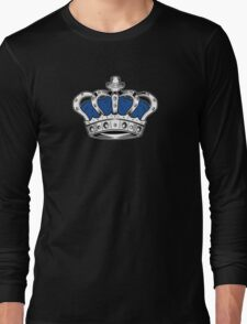 Crown - Blue 2 Long Sleeve T-Shirt