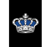 Crown - Blue 2 Photographic Print