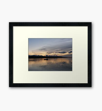 Evening Calm ,Burtonport Harbour, Donegal,Ireland Framed Print