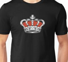 Crown - Orange Unisex T-Shirt
