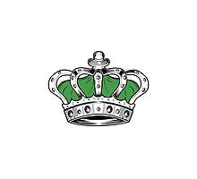 Crown - Green Photographic Print