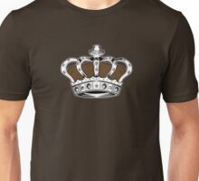 Crown - Brown Unisex T-Shirt