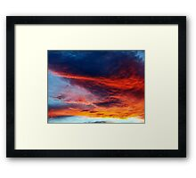 In Search of the Perfect Sunset Framed Print