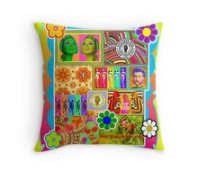 PSYCHEDELIC! Throw Pillow