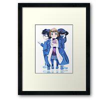 Sherlock Children Framed Print