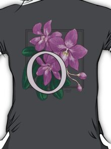 O is for Orchid - full image T-Shirt