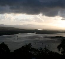 Cooktown Stormy Sunset by Hedoff