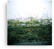 double exposed. Canvas Print