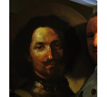 Painting study of Rembrandt Photographic Print