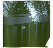 a birdhouse. Poster