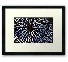 Launceston Pergola Framed Print